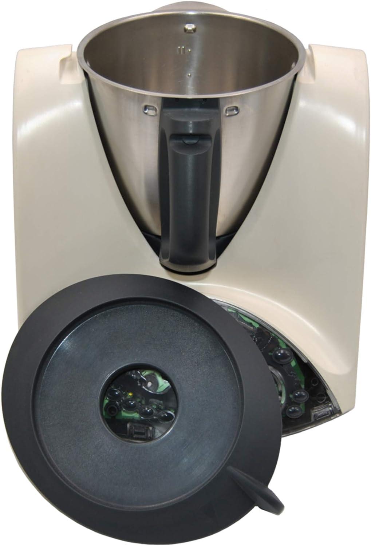 Dos vasos medidor con tapa para Vorwerk Thermomix TM 21, TM 31 y TM 3300: Amazon.es: Hogar