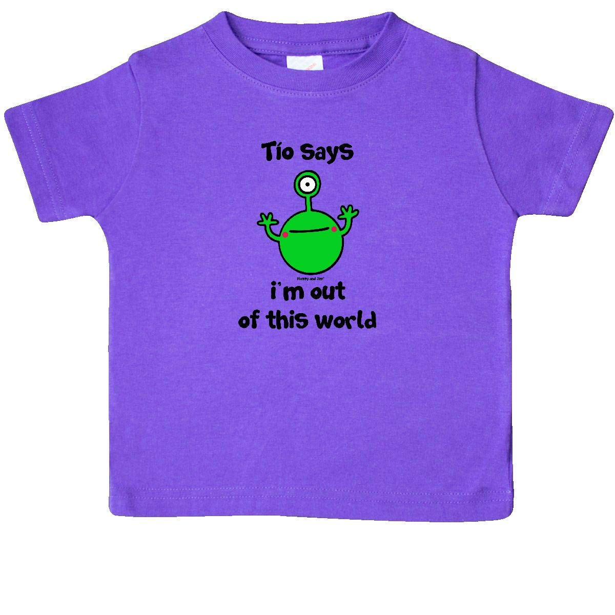 inktastic TIO Flossy and Jim Out of This World Baby T-Shirt