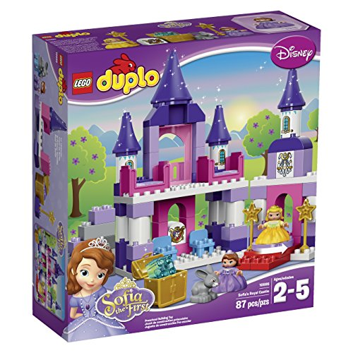 with LEGO DUPLO Castle design