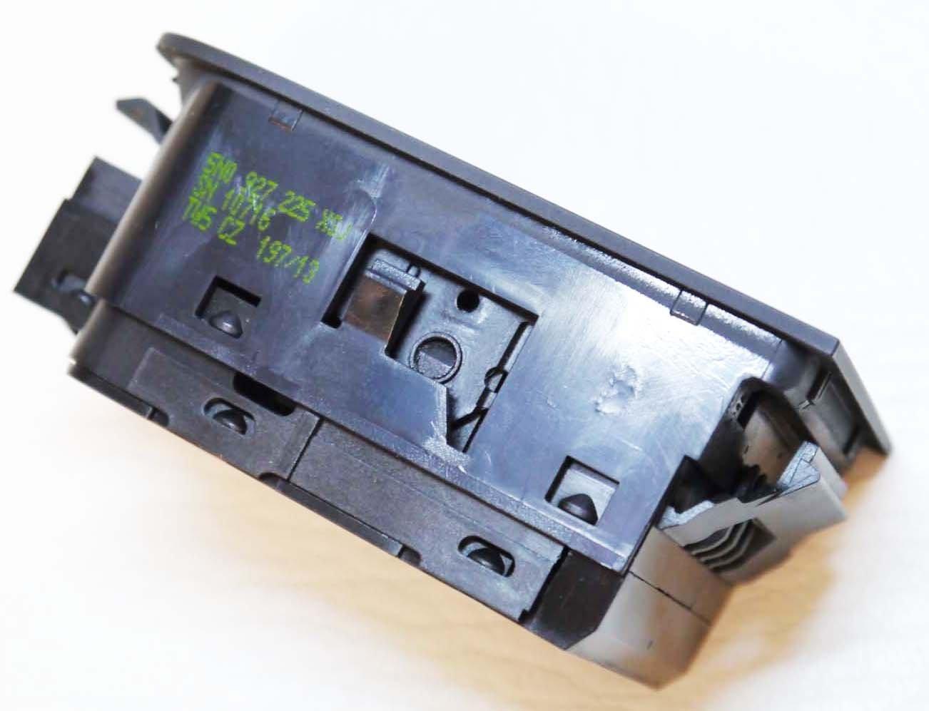 ELETTRONICA Freno a mano PARCHEGGIO MANUALE Interruttore del freno elettrico Pulsante 5n0927225a SHARAN TIGUAN ALHAMBRA