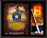 """Houston Astros Sublimated 12"""" x 15"""" Team Logo Plaque - Fanatics Authentic Certified - MLB Team Plaques and Collages"""
