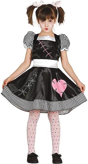 FIESTAS GUIRCA Disfraz de muñeca asesina de Chica Muerta para ...