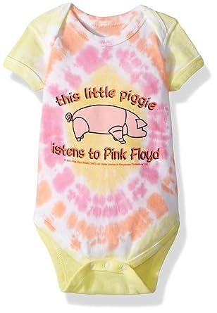 1bf0703ec60fa Liquid Blue Baby Pink Floyd This Little Piggy Onesie: Amazon.in ...