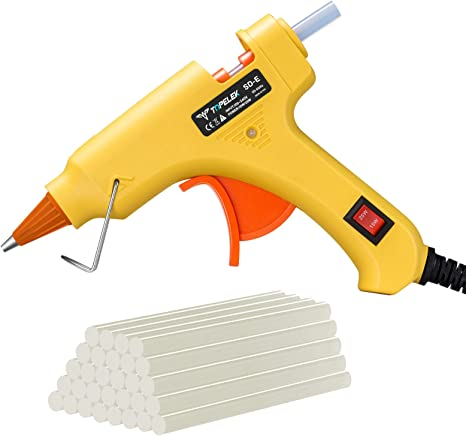 200cm LonG Glue Gun Hot Melt Adhesive 25W with 36 Free Glue Sticks