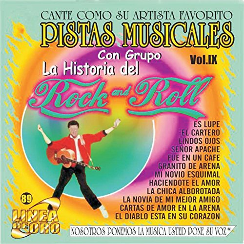 Pistas Musicales Con Grupo la Historia del Rock & Roll Vol. 9 (Roll Pista)