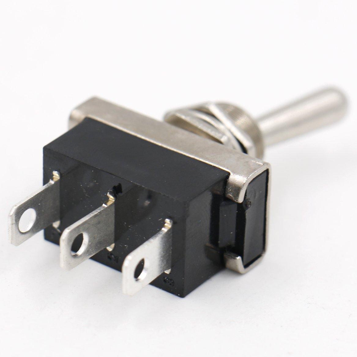 Heschen Kippschalter KN3D-102 Ein/Ein (On/On) Schalter SPDT 25A 12V ...
