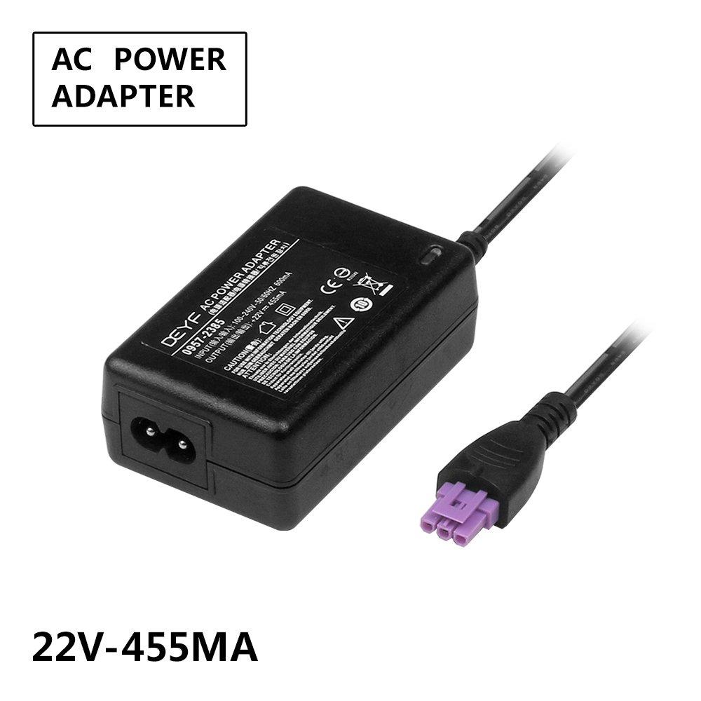 DEYF AC Adpater For HP Deskjet 1518 1010 1510 1512 2540 2541 2542 2543 2544 HP Officejet 2620 2621 2622 2624 All-in-One Officejet Ink Advantage 2645 2646 All-in-One HP 0957-2403 0957-2385