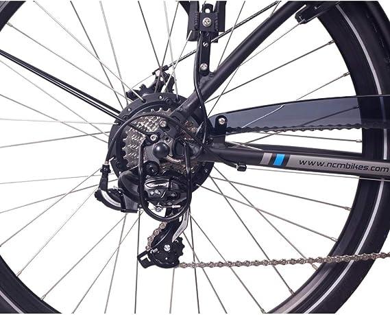 NCM Hamburg Bicicleta eléctrica Urbana, 250W, Batería 36V 13Ah 468Wh: Amazon.es: Deportes y aire libre