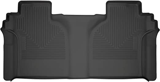 Chevrolet Silverado 1500 Crew Cab 2019-2020 Custom Fit All-Weather Car Floor Mats Liners 3D MAXpider GMC Sierra 1500 Kagu Series 1st /& 2nd Row, Black