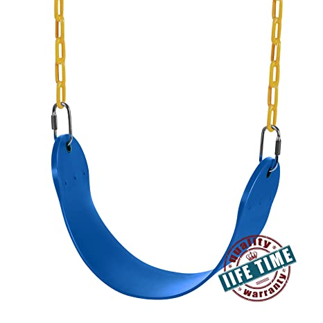 Amazon Com Ancheer Heavy Duty Swing Seat With 60 Inch Plastic