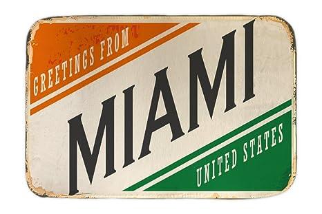 Cama Perro Viaje Cocina Miami USA impreso 40x60 cm