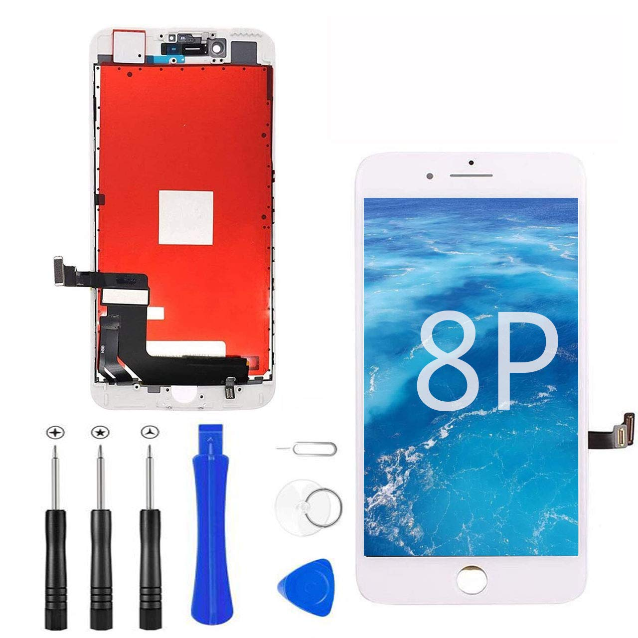 Modulo LCD Blanco para IPhone 8 Plus 5.5 Inch -783