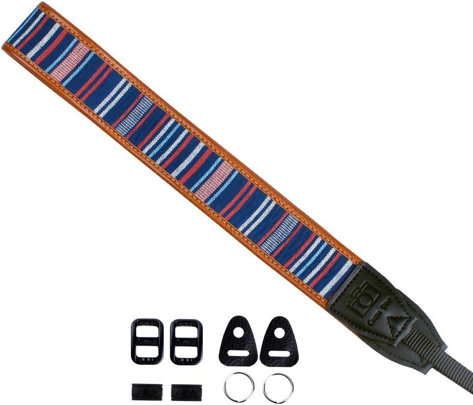 VKO Camera Shoulder Strap Neck Strap Belt Compatible with Fujifilm X-T4 X-T30 X-T3 X100S X100T X-T10 X-T2 X-T1 X-A2 X-A3 X70 X30 XQ2 X-E2 X-M1 X-Pro1 X-Pro2 Cameras Luxury Vintage Style