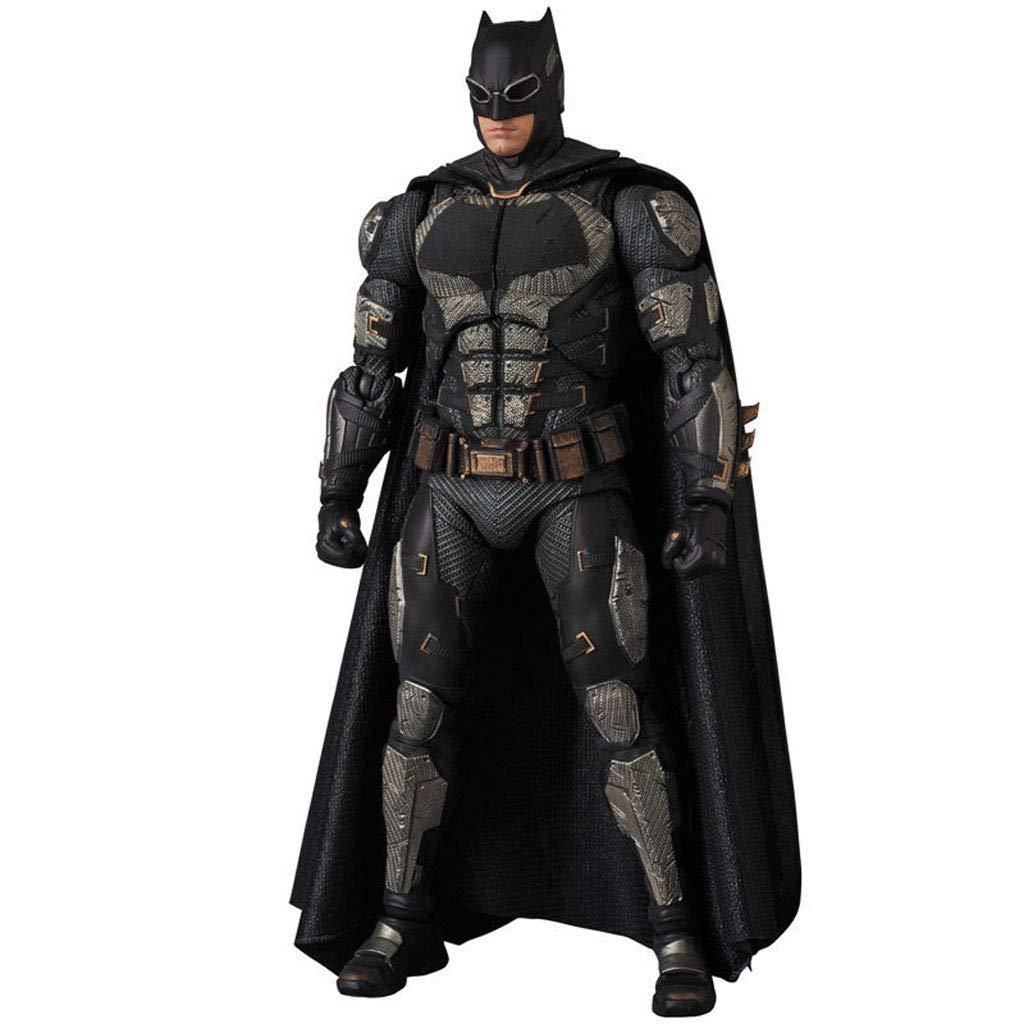TCLGLEI Justice League Batman MAF 064 Traje táctico Ver. Muñecas móviles Mano 16cm
