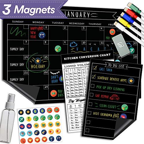 Magnetic Dry Erase Chalkboard