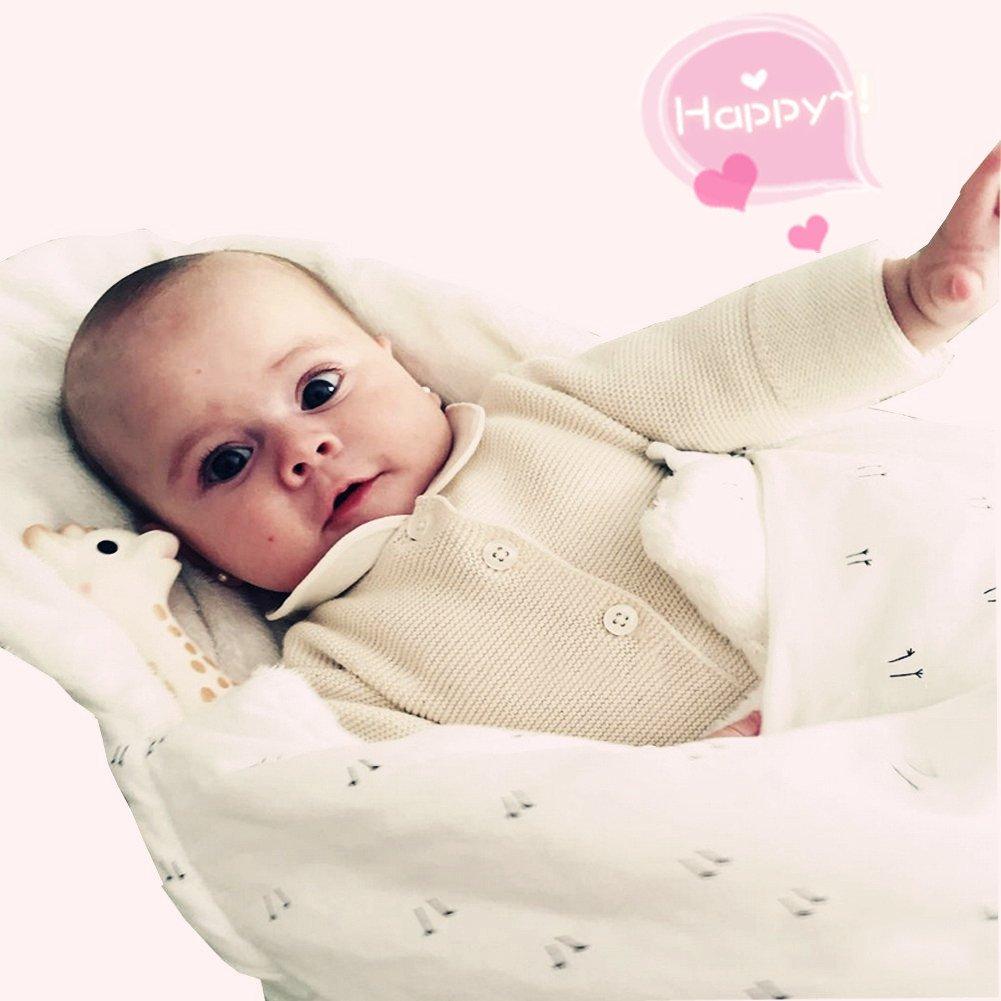 Huevos Lindos Dulce y C/álido Algod/ón Nido del /Ángel Nido del Beb/é Ni/ña y Ni/ño Miyanuby Saco de Dormir para Beb/és Manta para Beb/é Reci/én Nacido 0 a 6 Meses