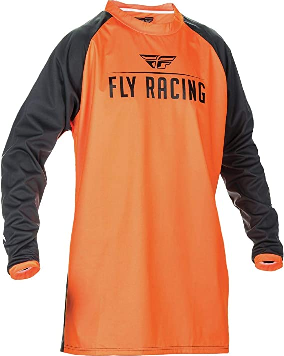 XX-Large Fly Racing 2019 Windproof Jersey Black//Grey