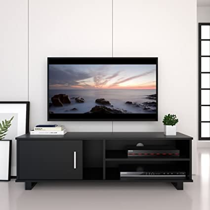 Bedroom Tv Stands | Ej Life Wooden Tv Stand Tv Unit Storage Console Tv Cabinet With Two