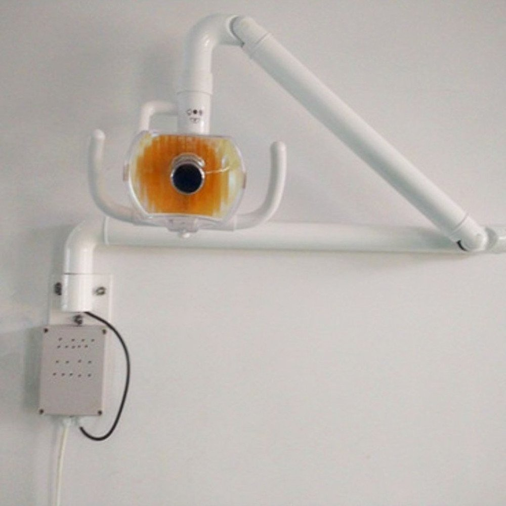 SoHome 50W Dental Wall Hanging Oral Light Lamp Surgical Shadowless Exam Light with Arm