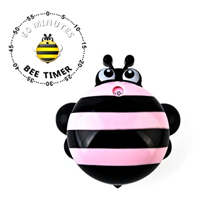 Cute Kitchen Timer For Cooking 60 Minute Commercial Boiled Time Back Magnetic Pink