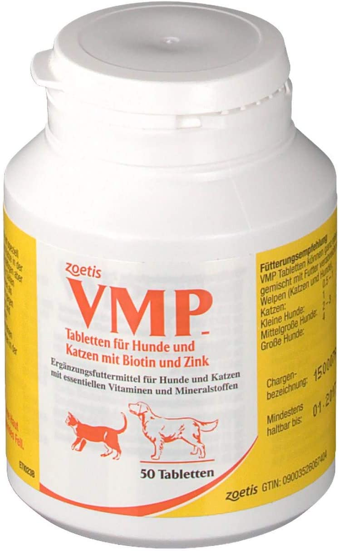 Zoetis VMP 50 comprimidos.