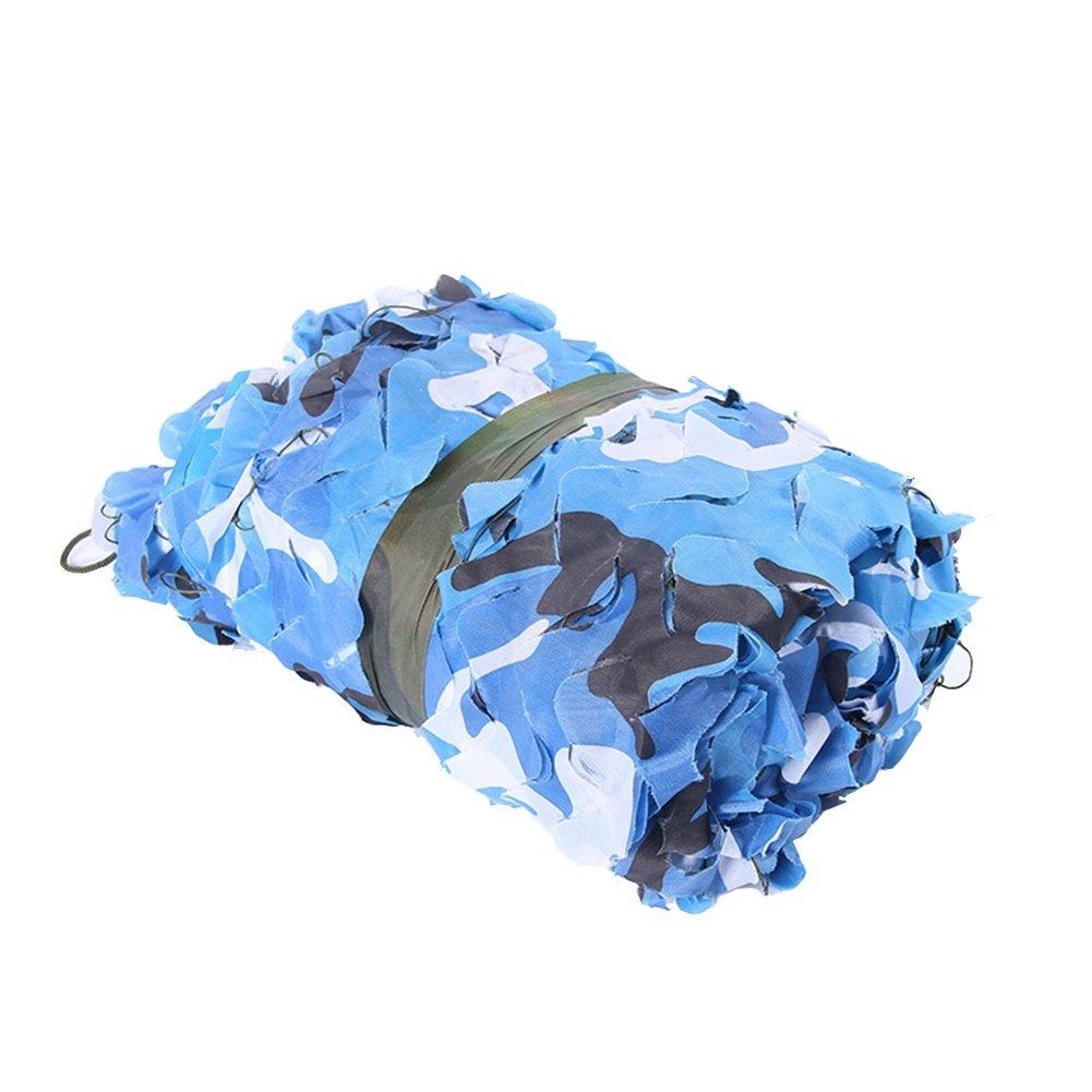 Sky bleu 2x5m Sz ZS Bleu Ciel Camouflage Camouflage Armée De Décoration Net Ventilateur Extérieur Réseau D'ombre Anti-aérien Camouflage