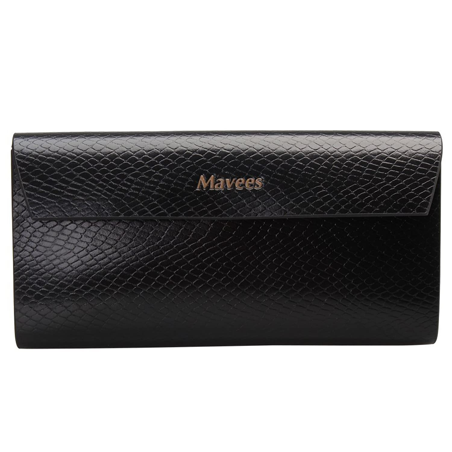 Mavees Leather Long Wallet Unisex Clutches MA429481-99