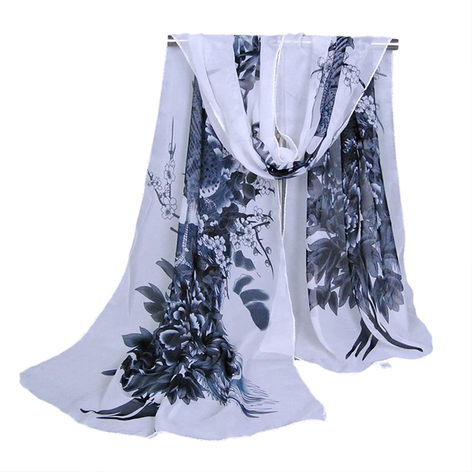NEW Soft Chiffon Women Ladies Scarf Neck Shawl Scarf Scarves Beach Wrap Stole