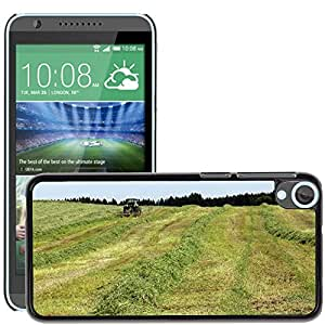 Hot Style Cell Phone PC Hard Case Cover // M00115567 Hay Harvest Time Grass Food // HTC Desire 820
