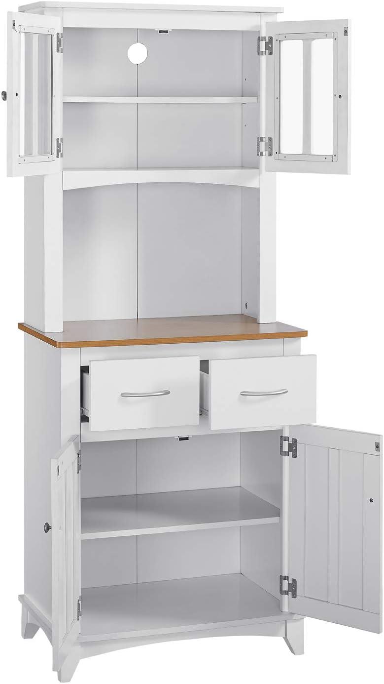 Amazon.com: Home Source Industries - Armario de microondas ...