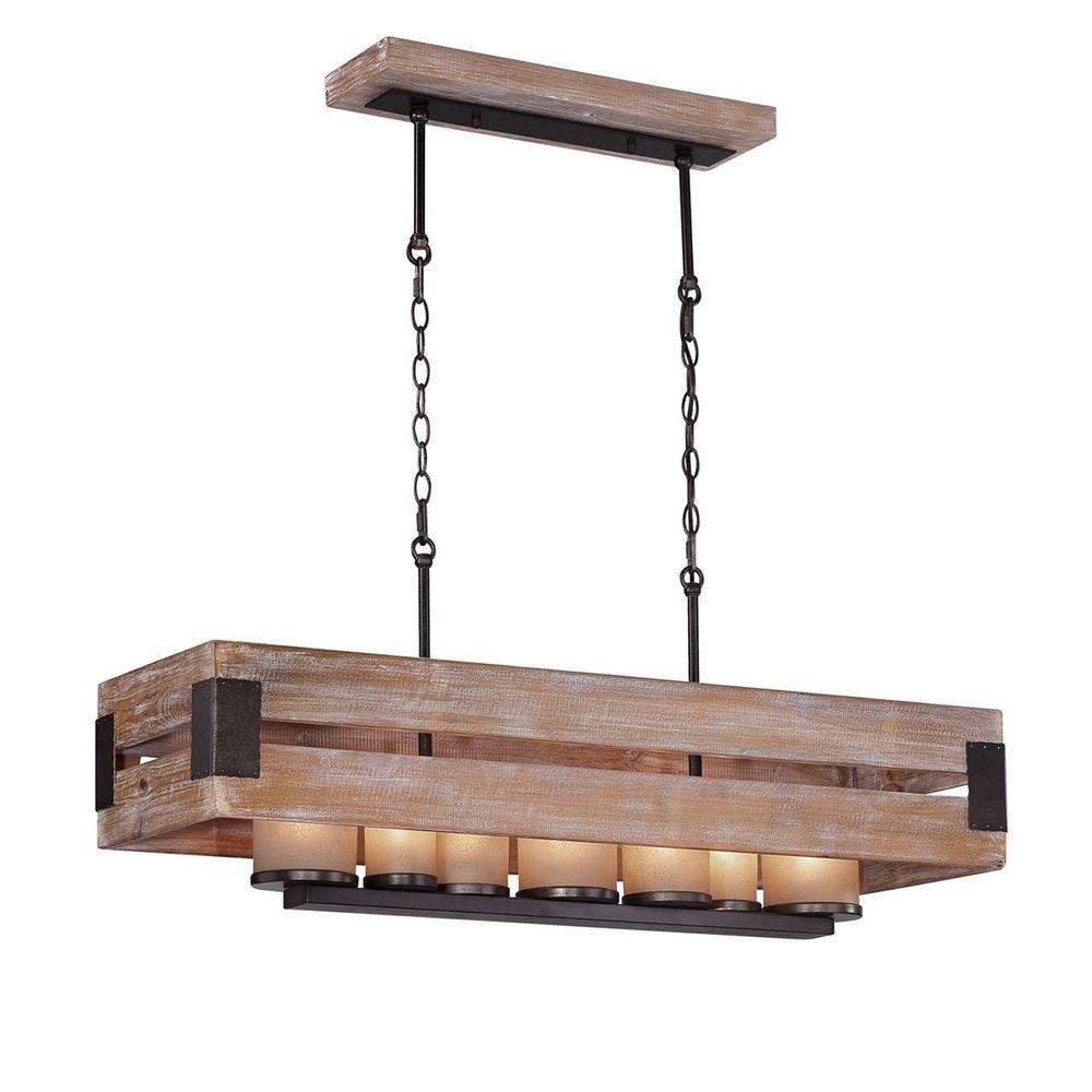 Amazon home decorators ackwood collection 7 light wood amazon home decorators ackwood collection 7 light wood rectangular chandelier clothing aloadofball Gallery