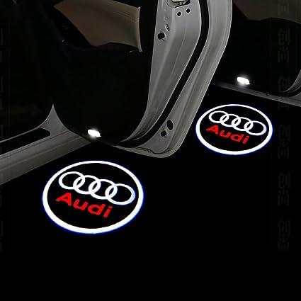 lightupro 4pcs LED proyector láser Logo paso puerta cortesía ...