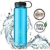 720°DGREE Trinkflasche simplBottle - 500ml, 1000ml, 1500ml | Perfekte Weithalsflasche Sportflasche, dicht | BPA-Frei