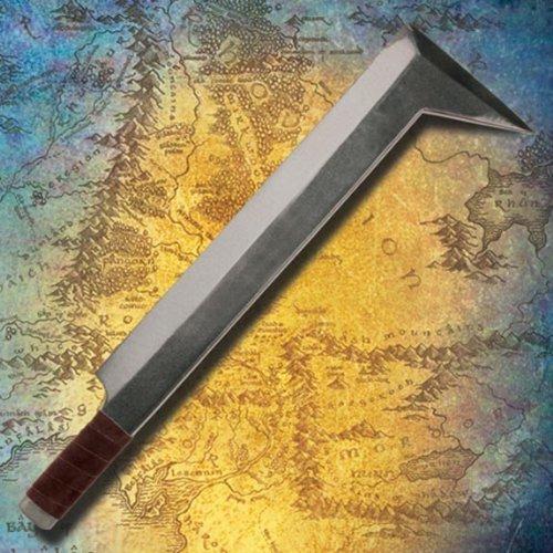 Museum Replicas Lord of The Rings LARP Uruk Hai Sword - Latex