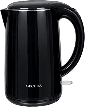 Secura The Original Double Wall 1.8 Quart Electric Water Kettle