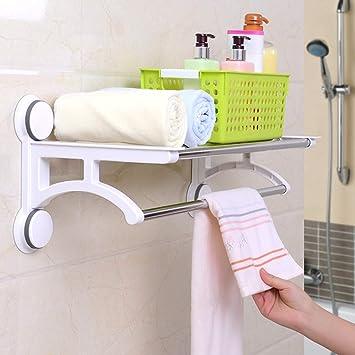 hj Ventosas, toalleros, inodoros, sin Puntas, toalleros, estantes para Colgar Toallas