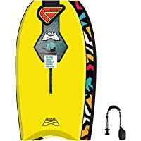 Flood Dynamx Stringer 44 - Bodyboard, Color Amarillo
