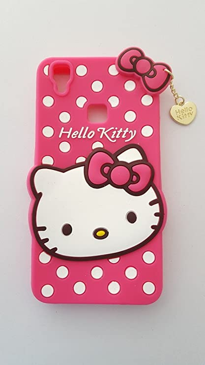 6333a9191 Trifty Vivo V3 Max Girl's Back Cover Hello Kitty: Amazon.in: Electronics