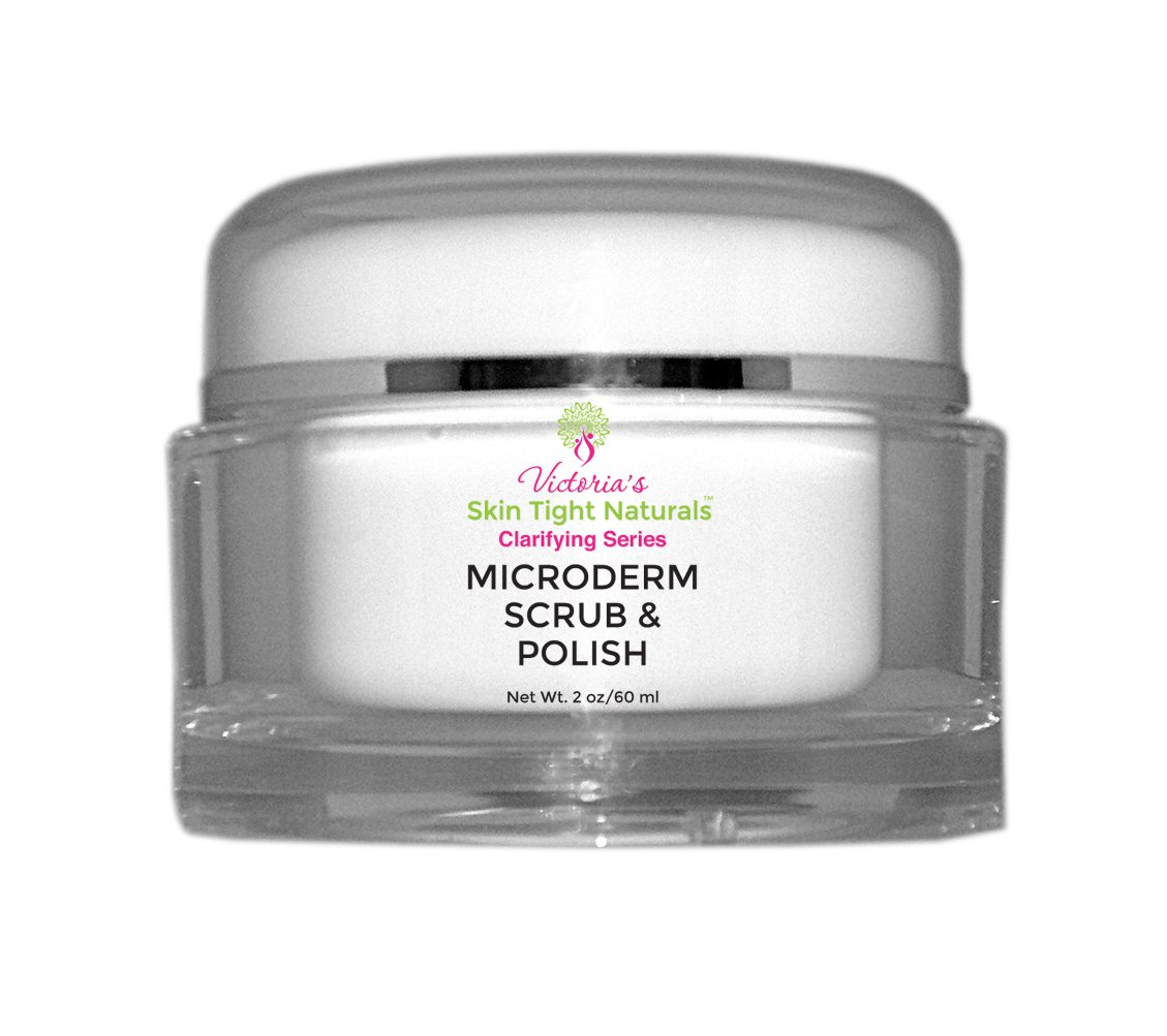 Microdermabrasion Skin Polish Exfoliation Anti-Aging, Fine Lines & Wrinkles, Acne, Pimples, Breakouts, Blackheads-Evens Skin Tone