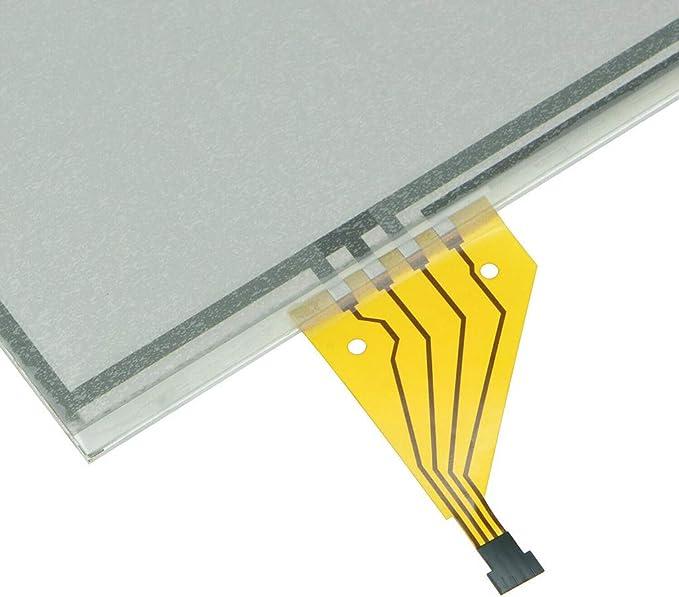 Shiwaki Reemplazo Del Digitalizador De Pantalla T/áctil De Navegaci/ón De 7.3 Pulgadas Para Lexus IS250-350