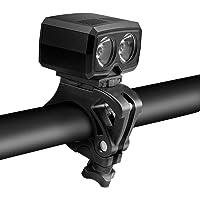 Achort Fietsverlichting voor LED, USB, oplaadbare mountainbikeverlichting, mini-helder fietslicht, 600 lumen, 5…