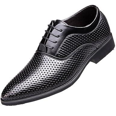 MYXUA Herren Sandalen Business Kleid Schuhe Freizeitschuhe