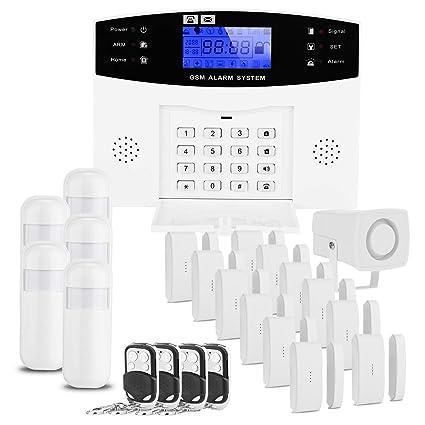 D1D9 Home gsm Sistema de Alarma inalámbrica para Seguridad ...