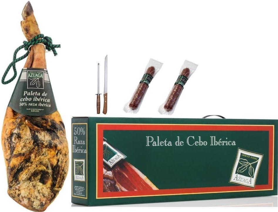 Campodulce lote paleta cebo iberico 50% de 4,5 a 5,0 Kg. + ...