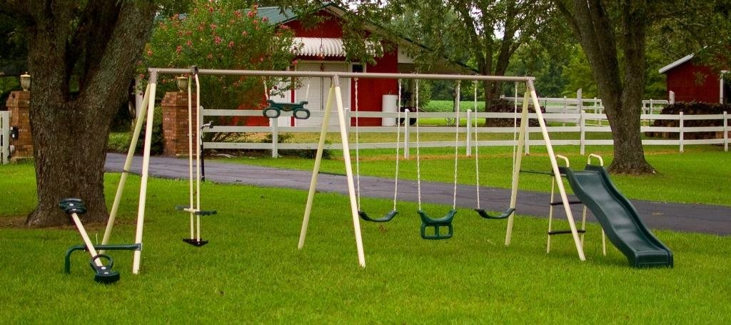Flexible Flyer Fun swing set