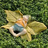 Miniature Fairy Garden Leaf Baby with Shirt