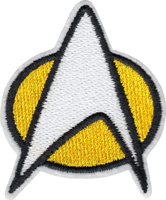 Star Trek Communicator Insignia Logo Embroidered Iron On Patch