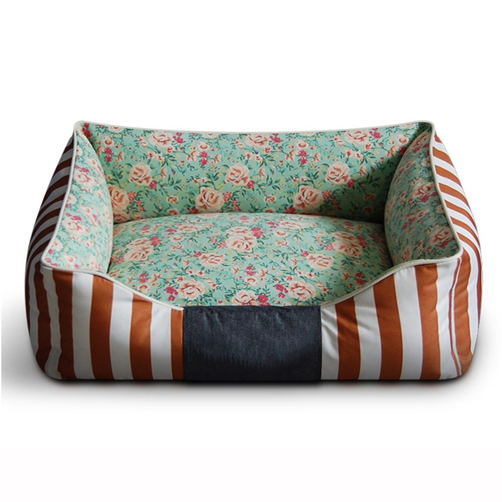 C Brown XLargeDogs Beds Furniture Bed Blankets Dogs Beds PET's Cushions Mats Soft Sofas or Chairs MultiSize Options S M L XL (color   B bluee, Size   XL)