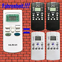Replacement for Carrier Air V Airv Rv Air Conditioners Remote Control for 12-50095-00 12-50074-00 12-50152-00 68RV11302A 68RV14102A 68RV14103A 68RV14112A 68RV15102A 68RV15103A 68RV0010AA 68RV0010BA