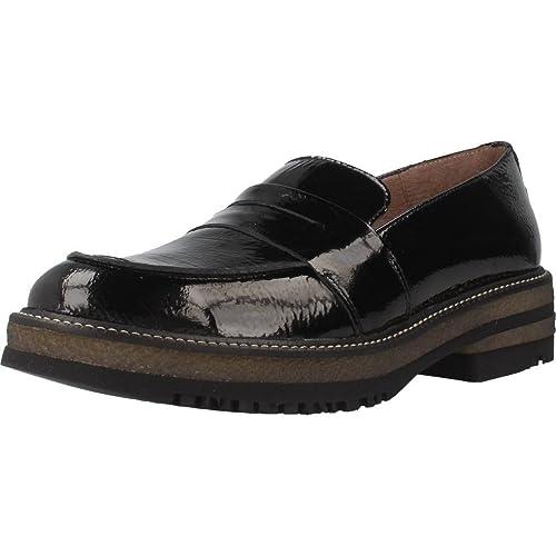 Mocasines para Mujer, Color Negro, Marca WONDERS, Modelo Mocasines para Mujer WONDERS A5702 Negro: Amazon.es: Zapatos y complementos
